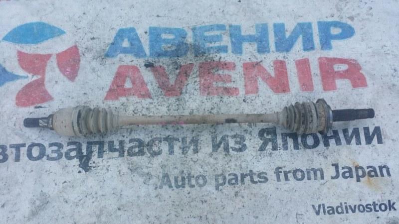 Привод Nissan Avenir VNW11 QG18 задний правый