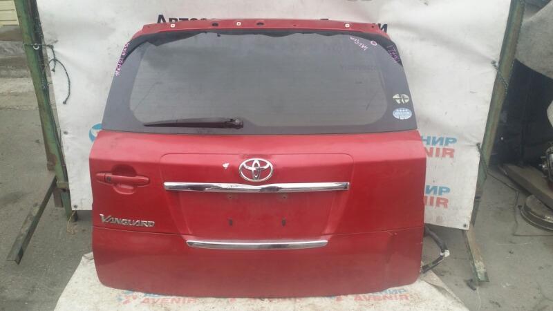 Дверь задняя Toyota Vanguard ACA33W 2AZ-FE задняя
