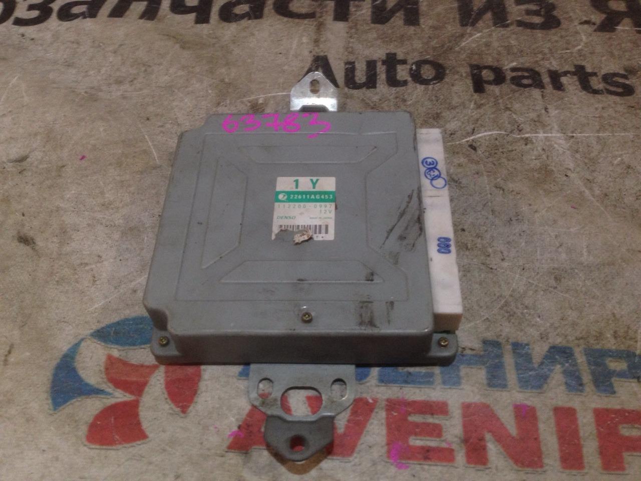 Блок управления efi Subaru Legacy BE5 EJ206TT
