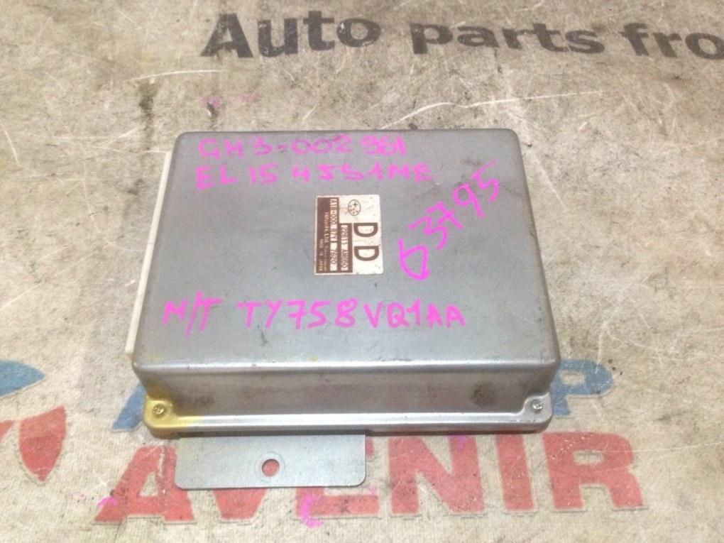 Блок управления efi Subaru Impreza GH3 EL15