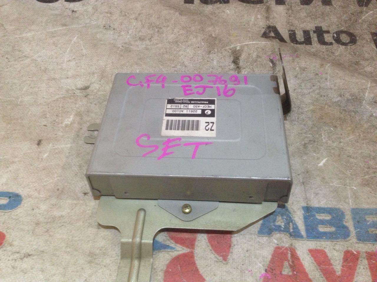Блок управления efi Subaru Impreza GF4 EJ16