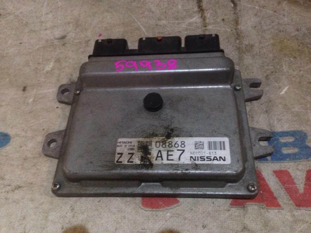 Блок управления efi Nissan Note NE12 HR12