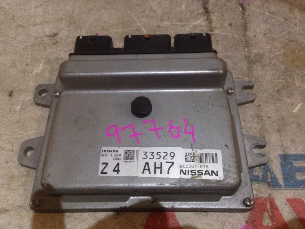 Блок управления efi Nissan HR16DE