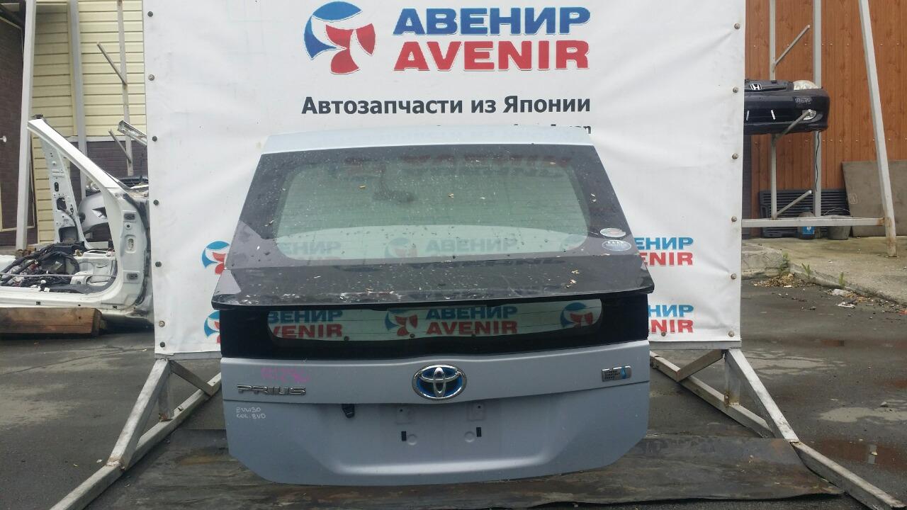 Дверь задняя Toyota Prius ZVW30 задняя