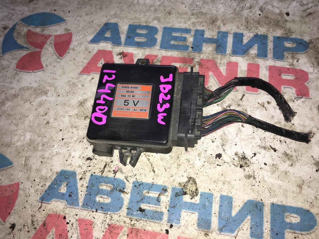 Блок управления efi Suzuki Jimny JB23W K6AT