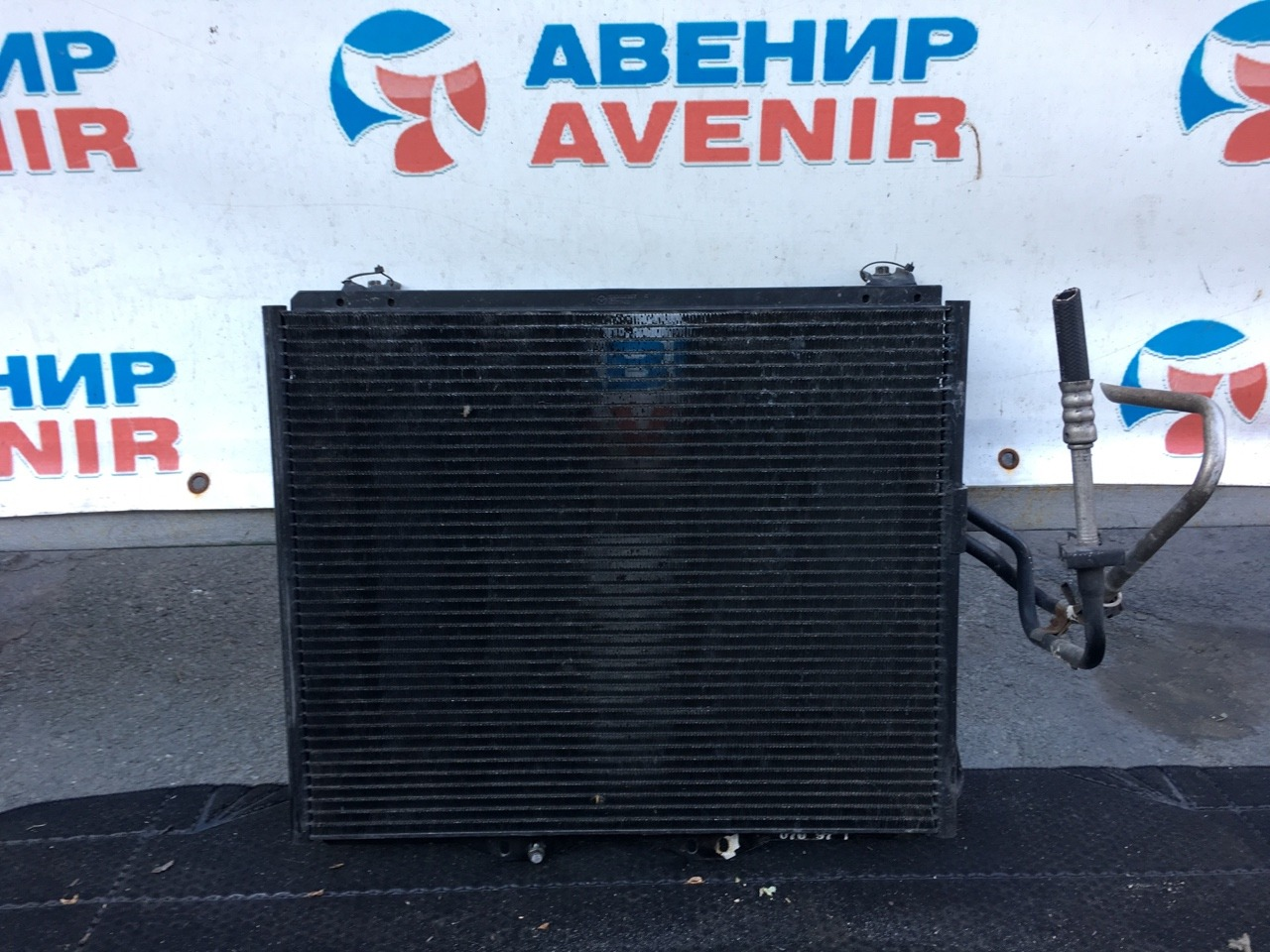 Радиатор кондиционера Jeep Wrangler TJ