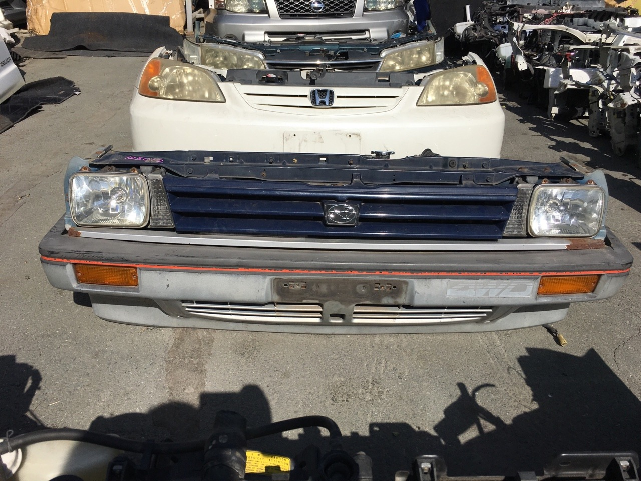 Nose cut Subaru Justy KA8 EF12