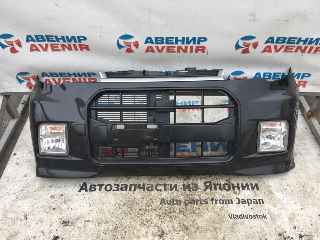 Бампер Daihatsu Tanto Exe L455S передний