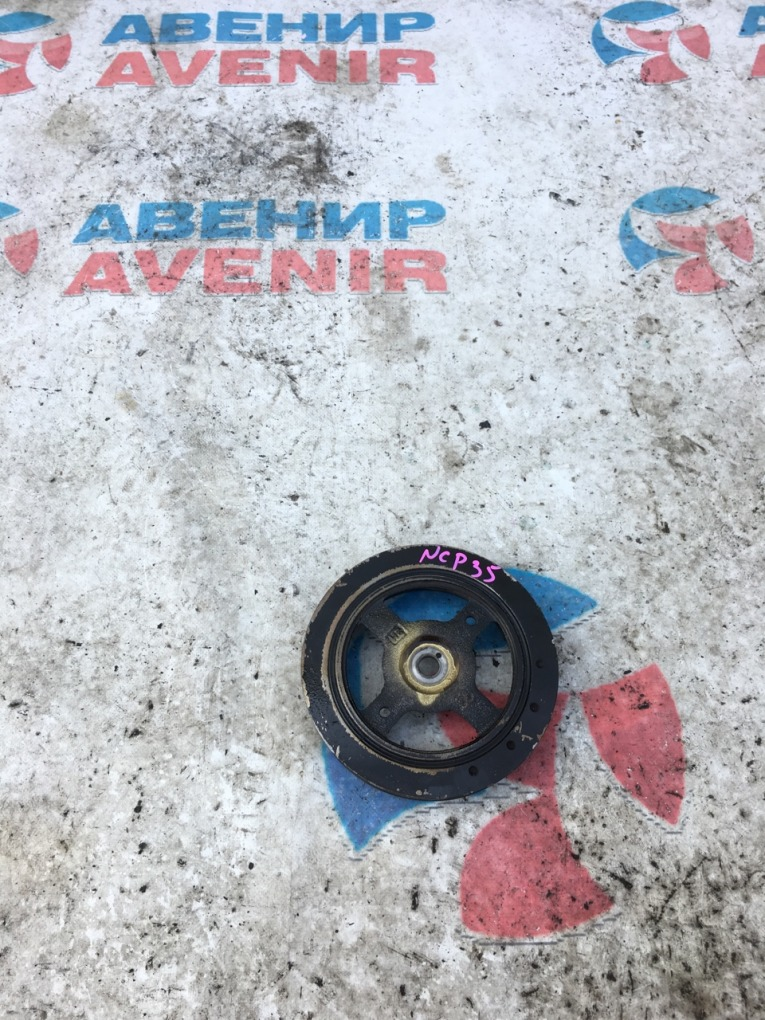 Шкив коленвала Toyota Bb NCP35 1NZ-FE