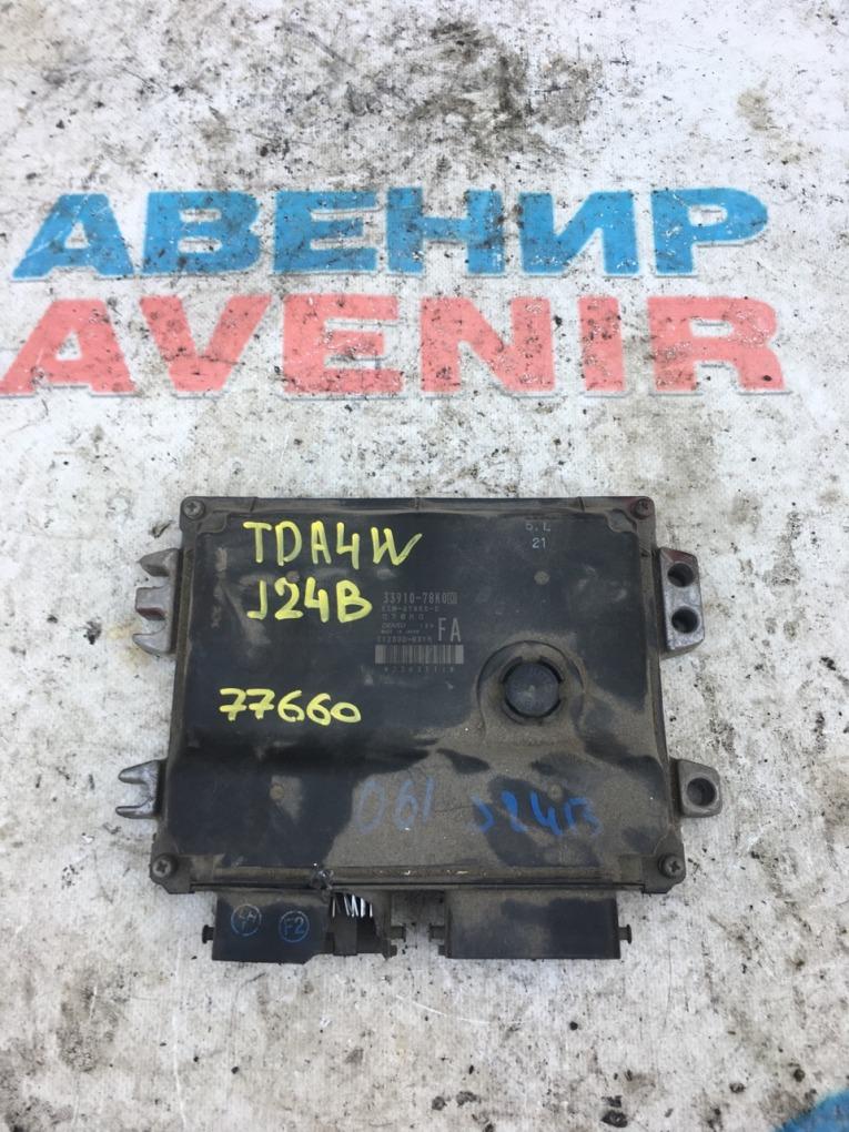 Блок управления efi Suzuki Escudo TDA4W J24B