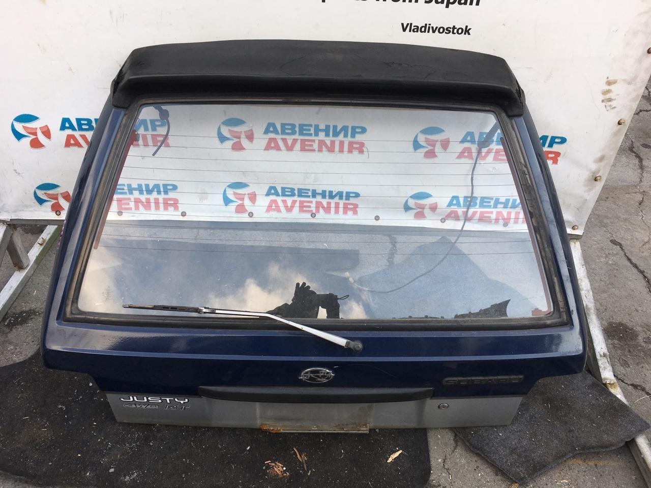 Дверь задняя Subaru Justy KA8 задняя