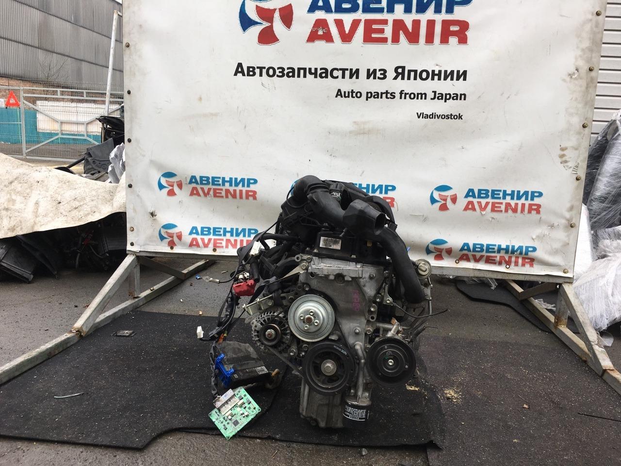 Двигатель Daihatsu Move LA100S KF-DET