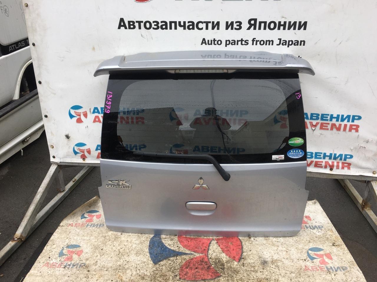 Дверь задняя Mitsubishi Ek Wagon B11W 3B20 задняя