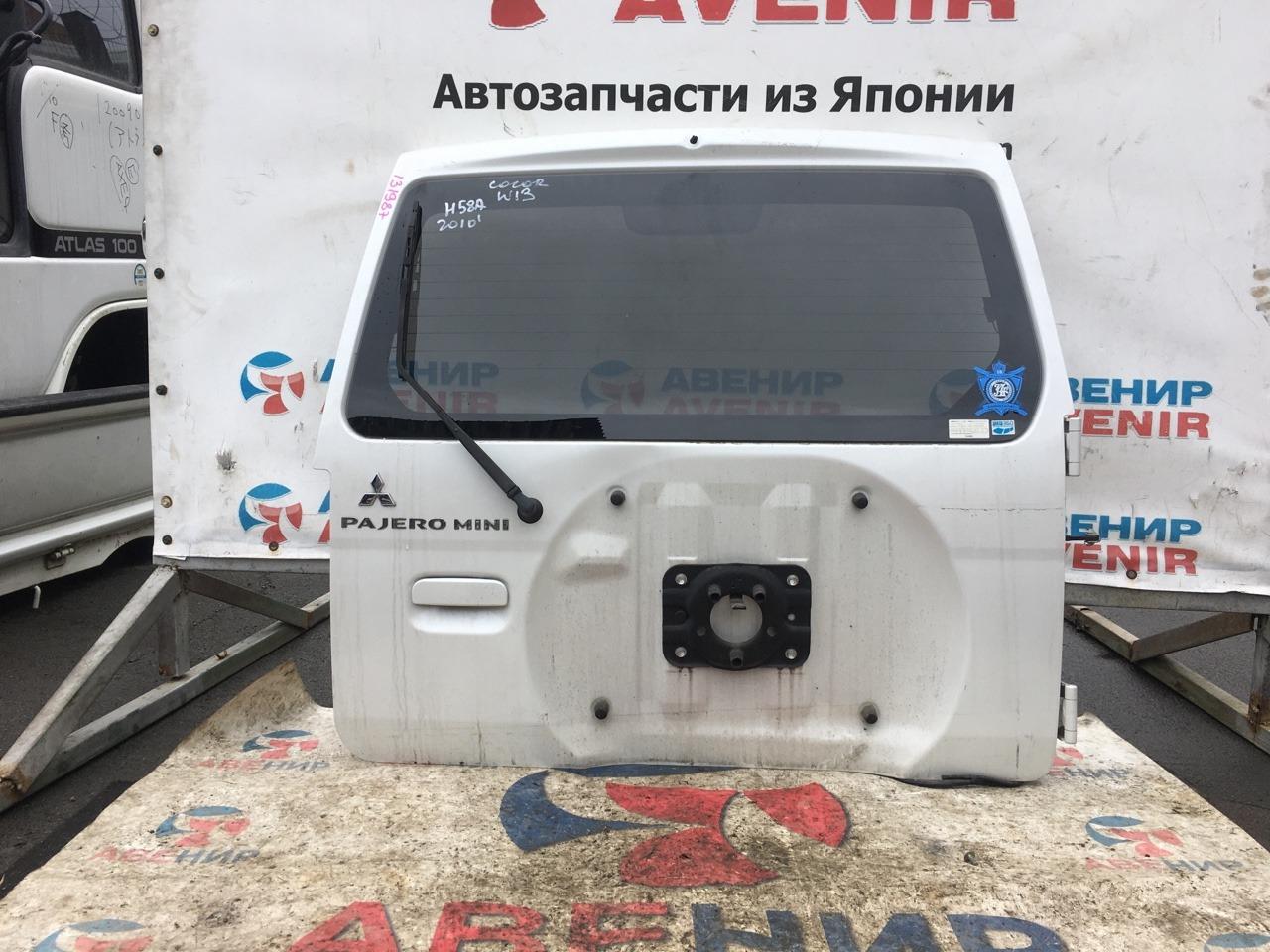 Дверь задняя Mitsubishi Pajero Mini H58A 2010 задняя