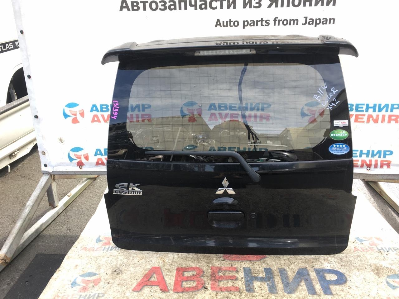 Дверь задняя Mitsubishi Ek Wagon Custom B11W задняя