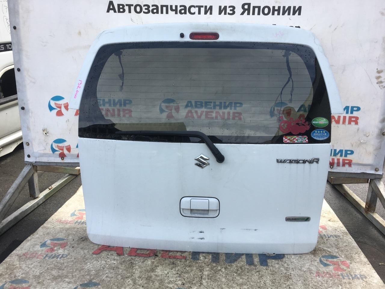 Дверь задняя Suzuki Wagon R MH34S