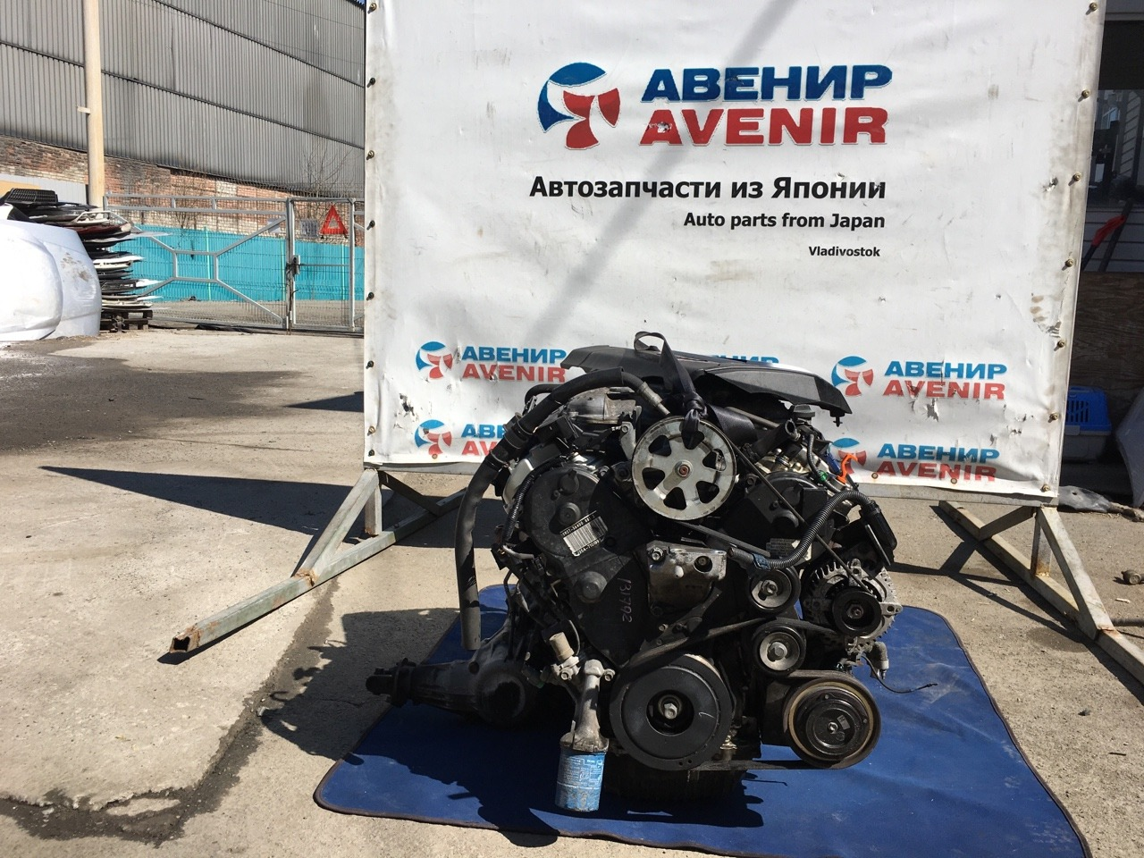 Двигатель Honda Elysion RR6 J35A
