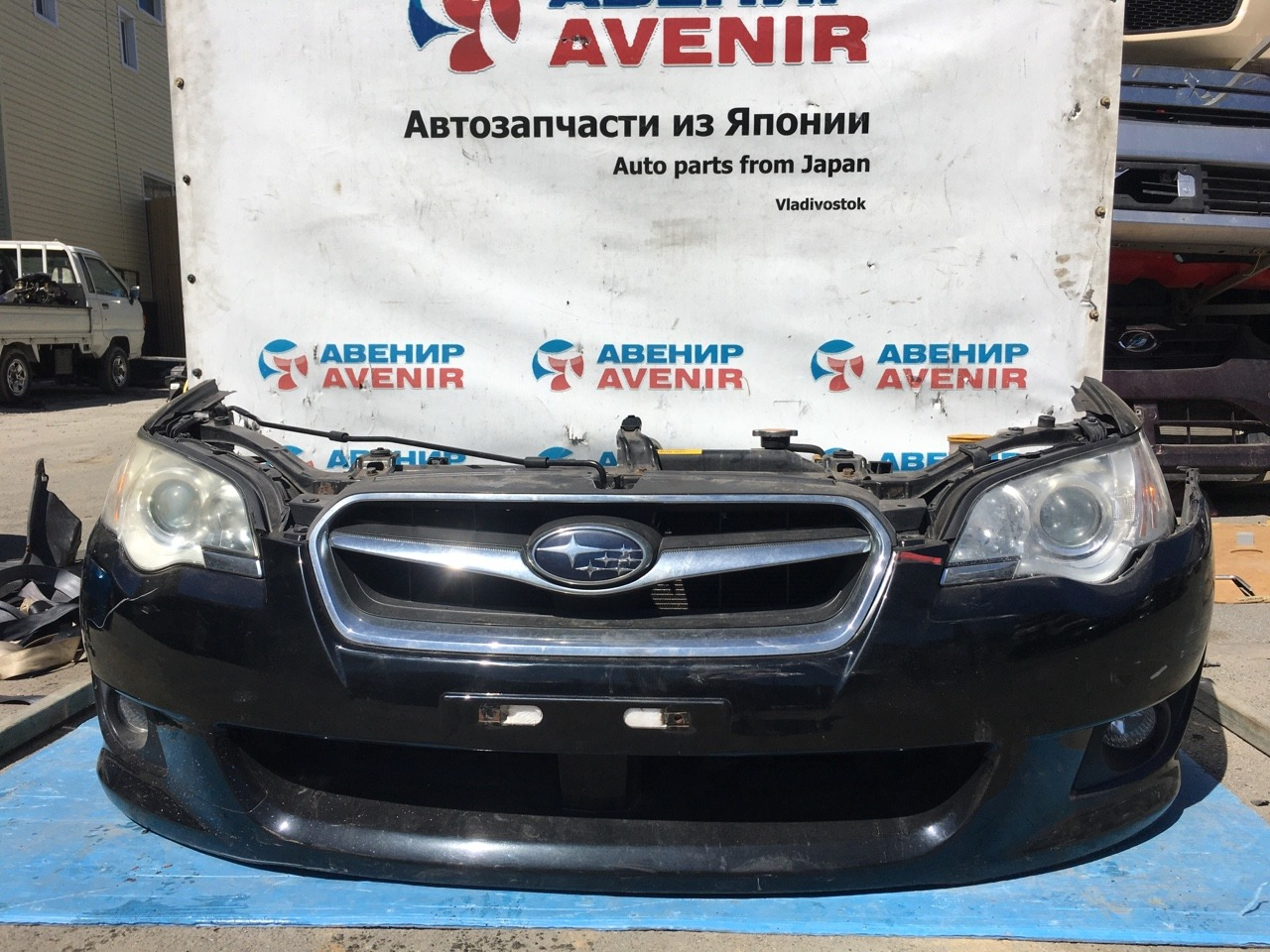 Nose cut Subaru Legacy BP5 EJ203