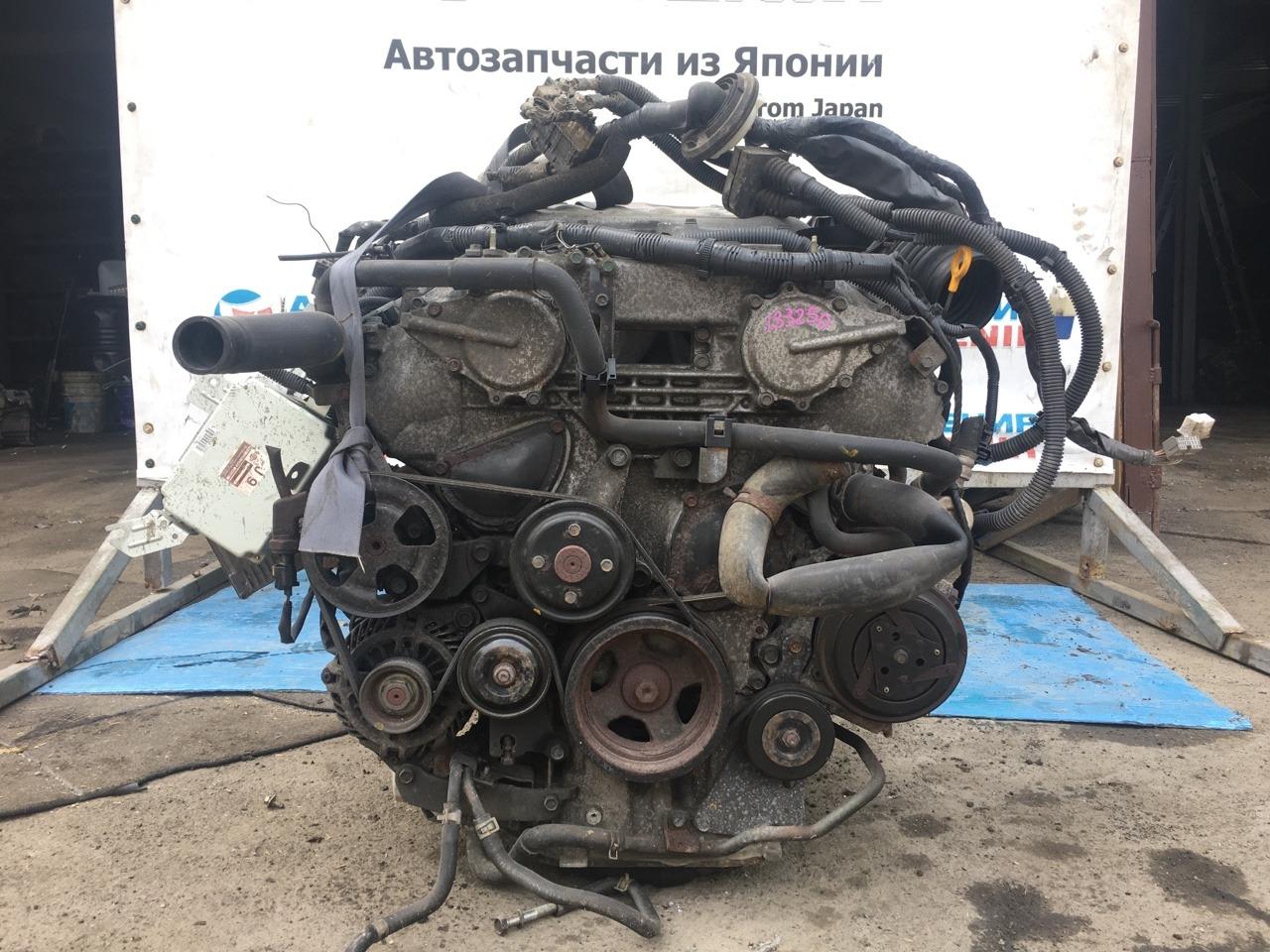 Двигатель Nissan Skyline CPV35 VQ35DE