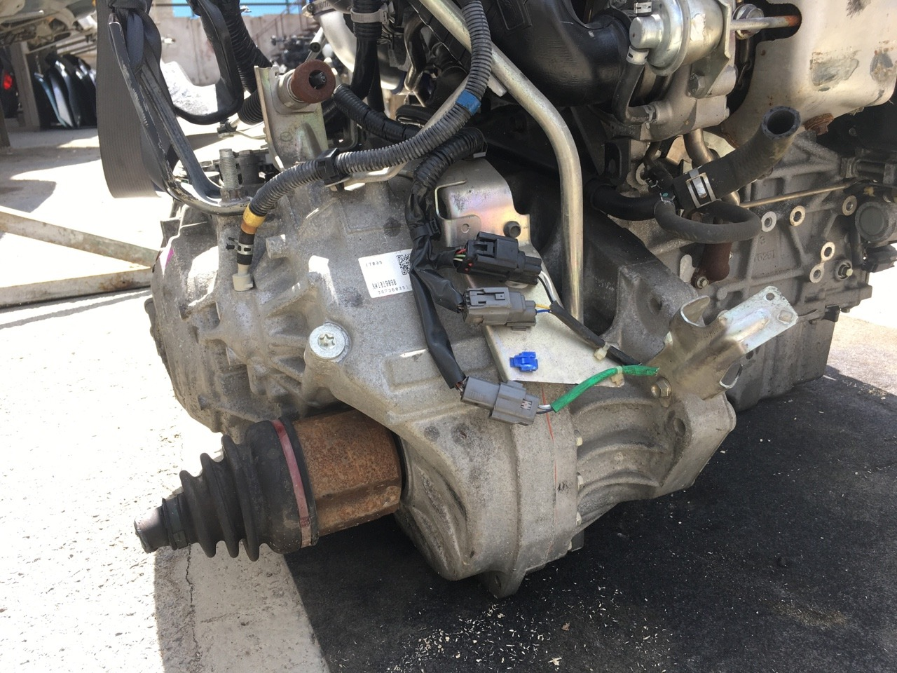 Акпп Mazda Mpv LY3P L3-VDT