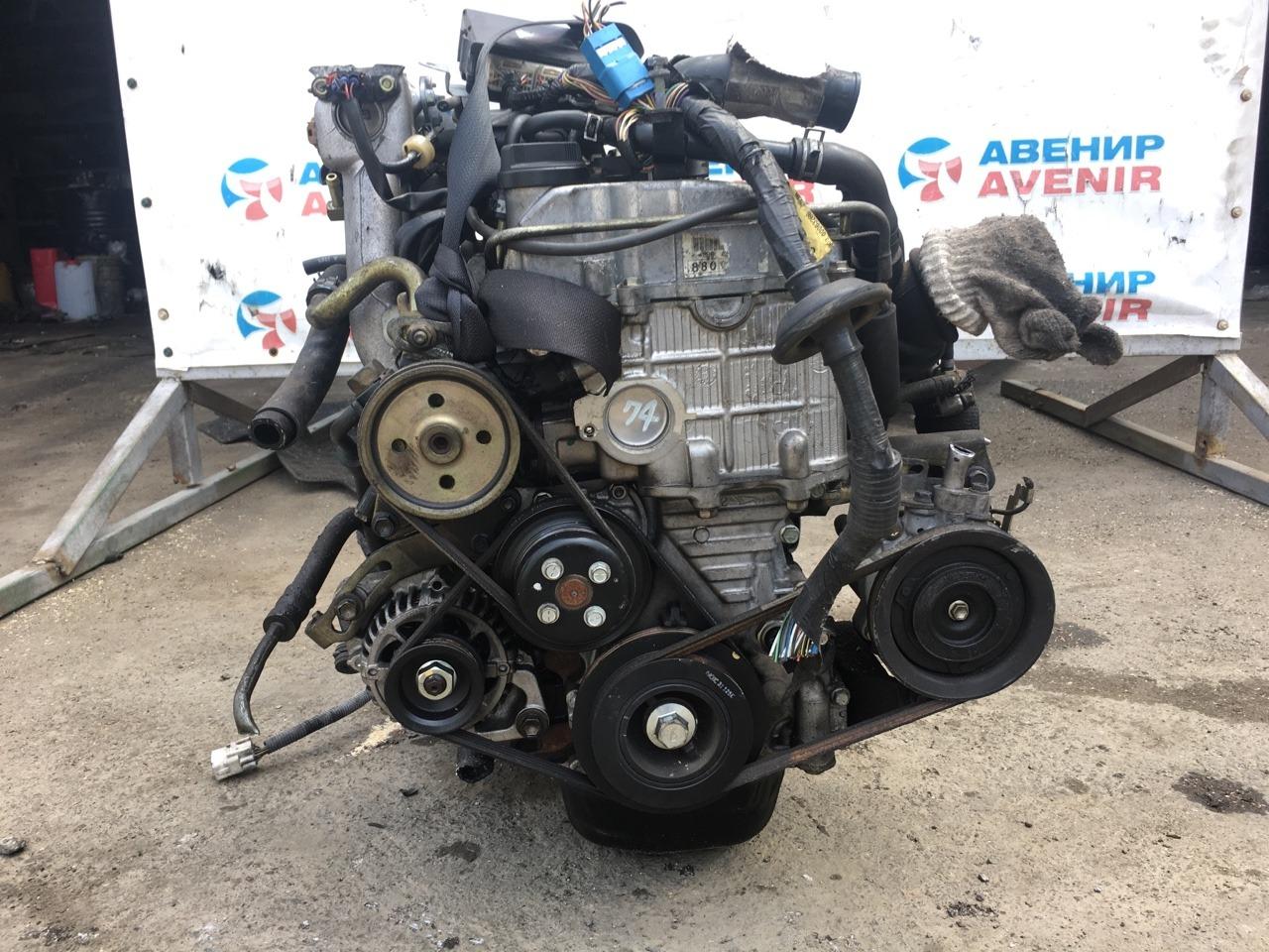 Двигатель Daihatsu Copen L880K JB-DET