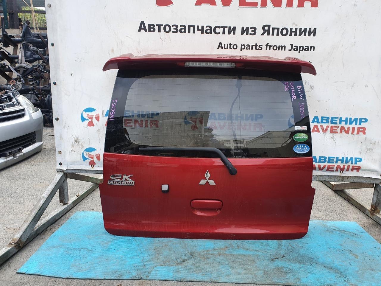 Дверь задняя Mitsubishi Ek Custom B11W задняя