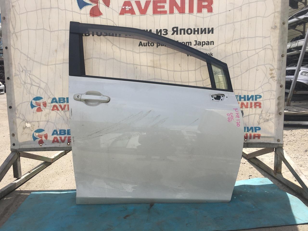 Дверь Toyota Sienta NHP170 1NZ-FXE передняя правая