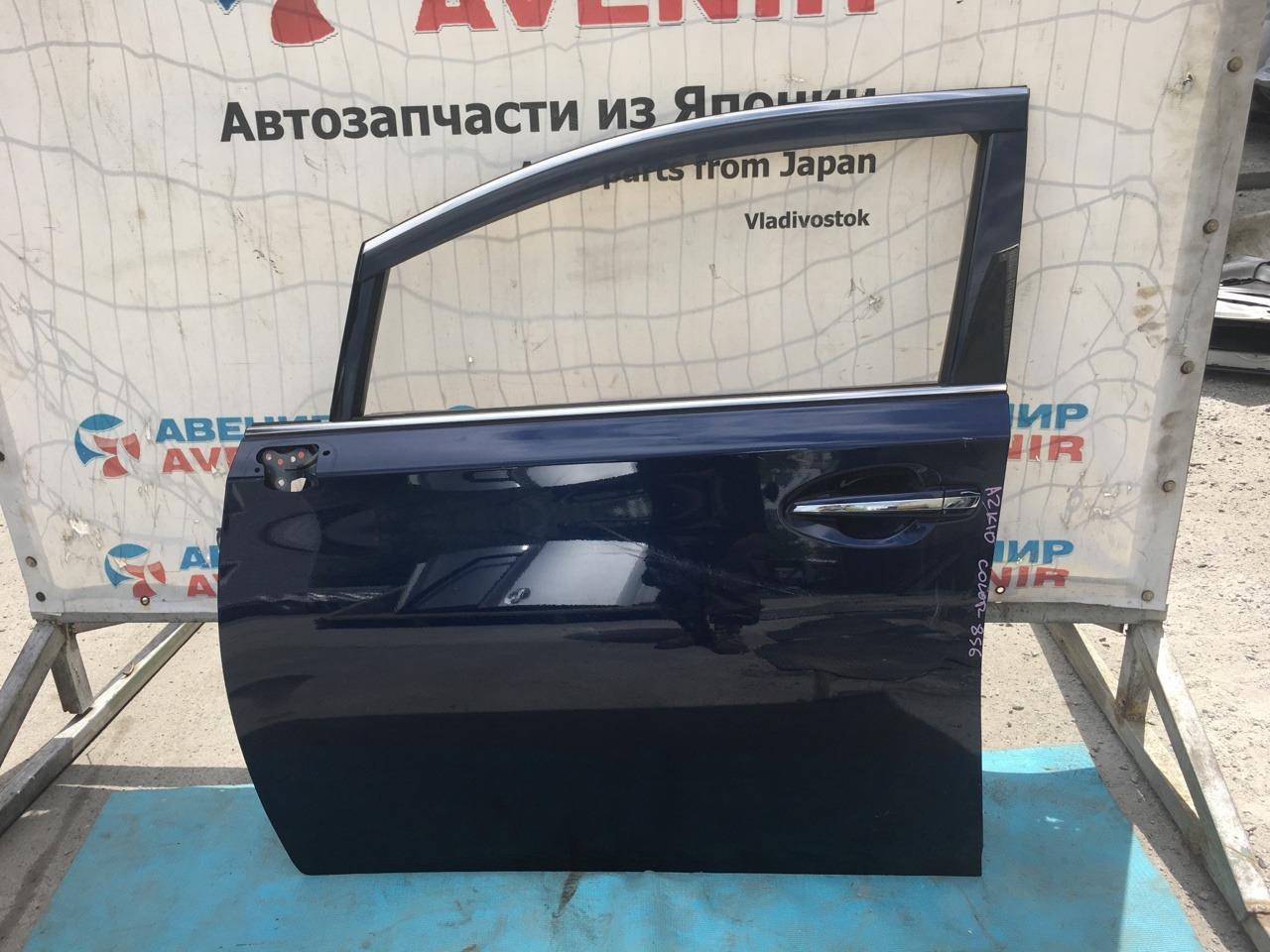 Дверь Toyota Sai AZK10 2AZ-FXE передняя левая