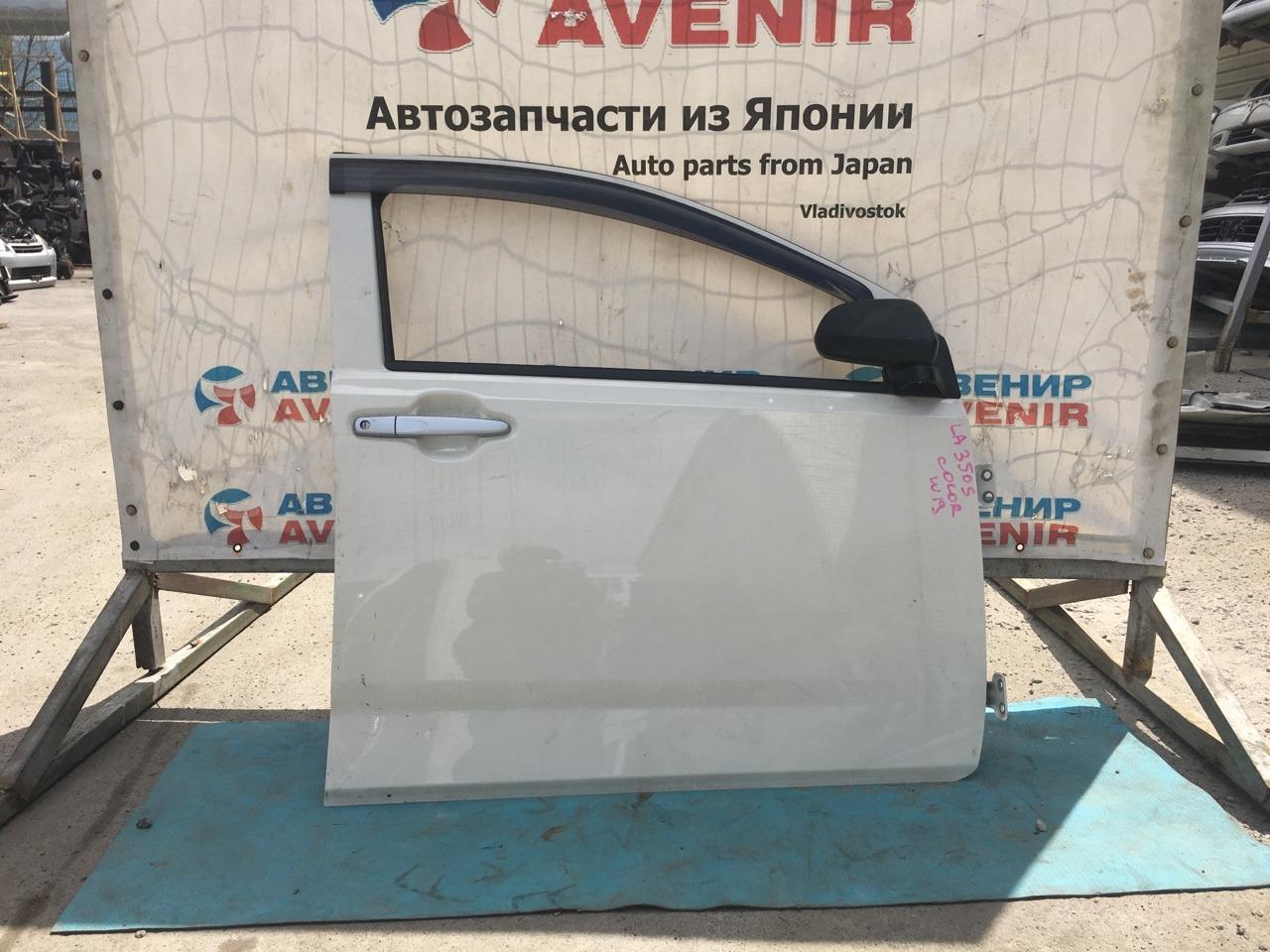 Дверь Daihatsu Mira LA350S передняя правая