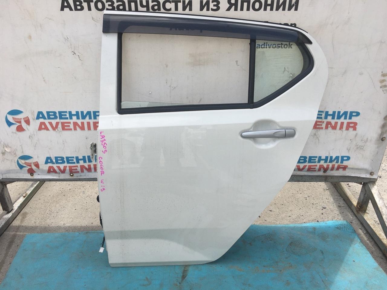 Дверь Daihatsu Mira LA350S задняя левая