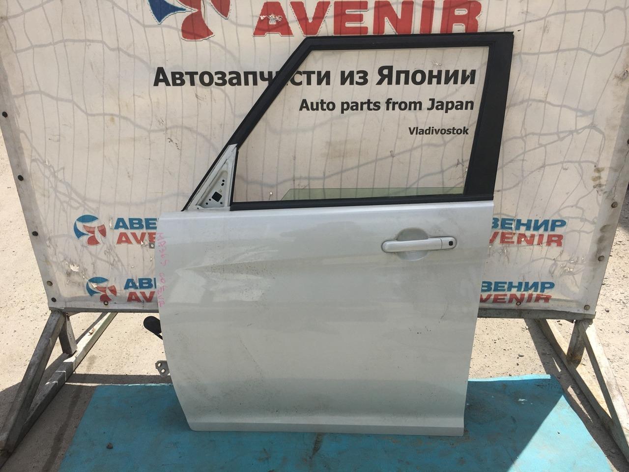 Дверь Suzuki Solio Bandit MA36S K12C передняя левая