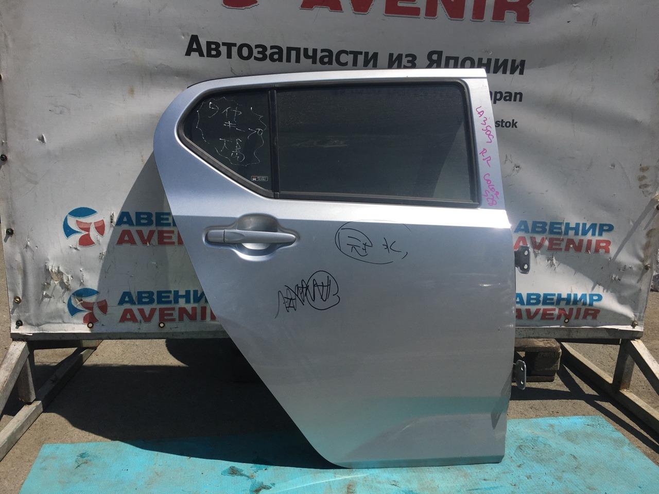 Дверь Daihatsu Mira LA350S задняя правая