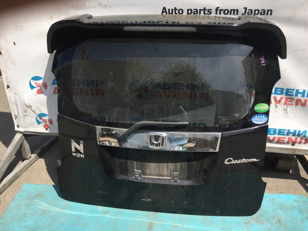 Дверь задняя Honda N-Wgn JH1 S07A 2014