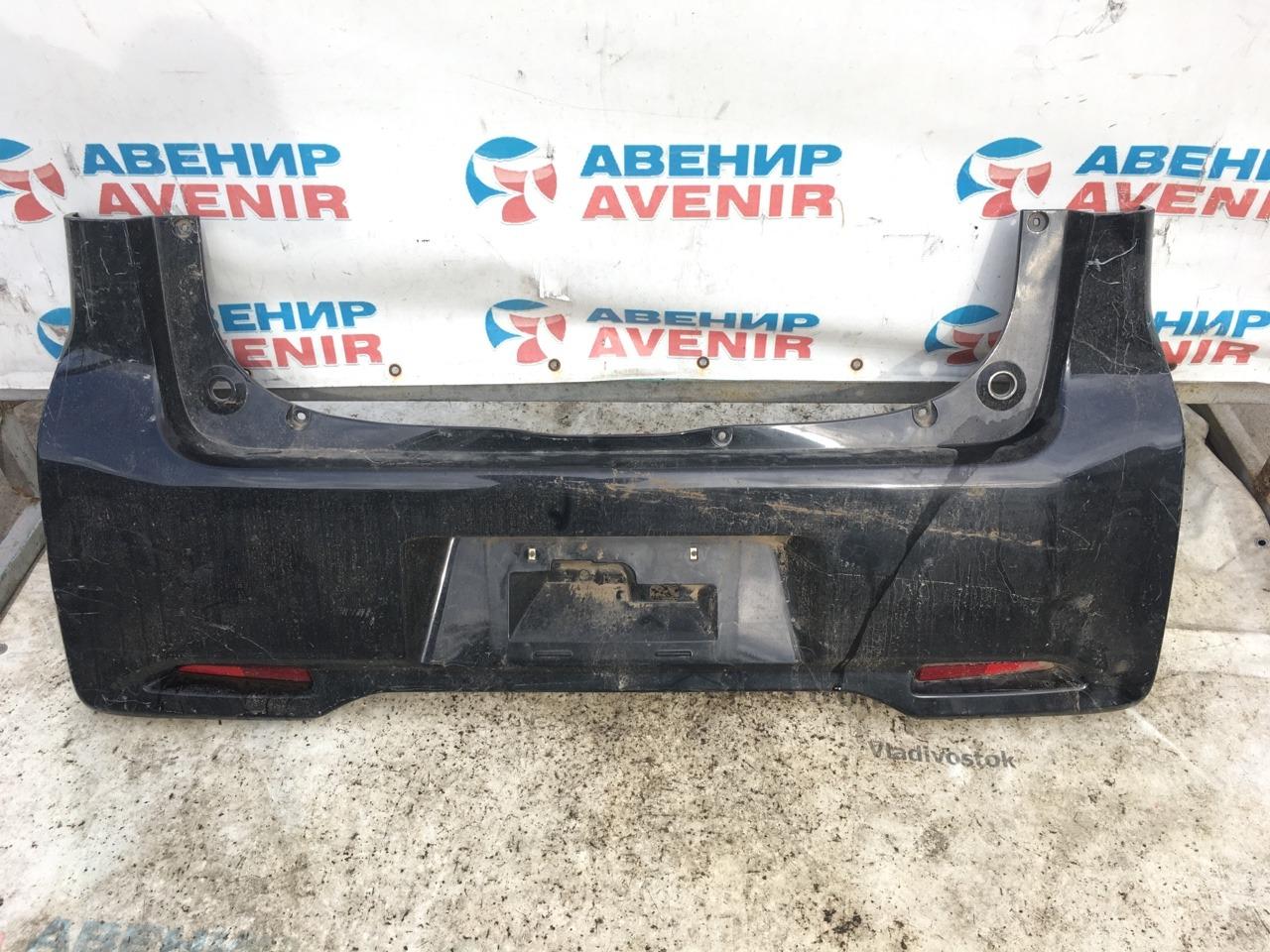 Бампер Mitsubishi Ek Wagon B11W задний