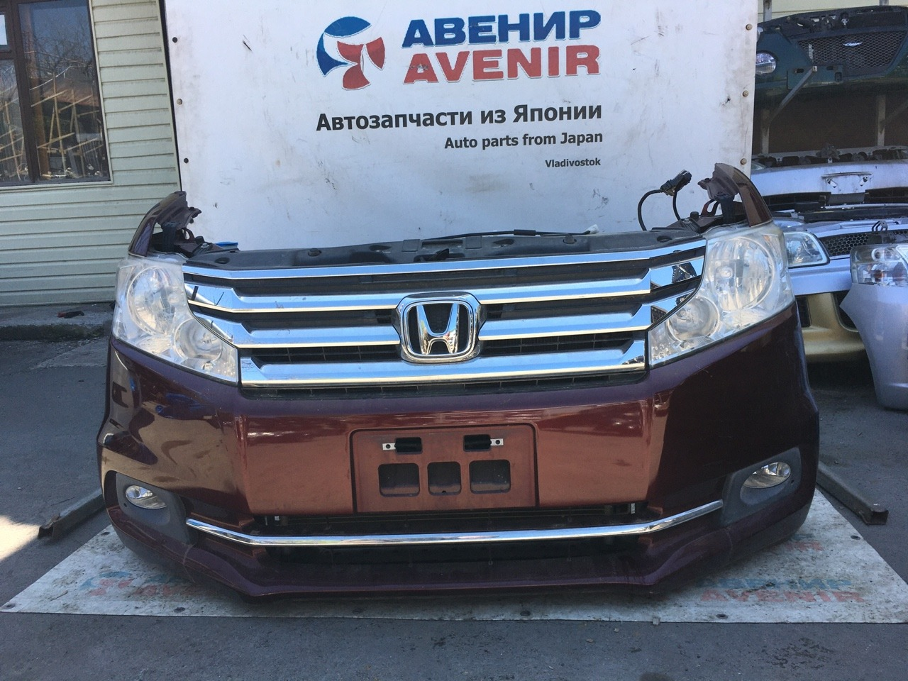 Nose cut Honda Step Wagon RK1 K20A