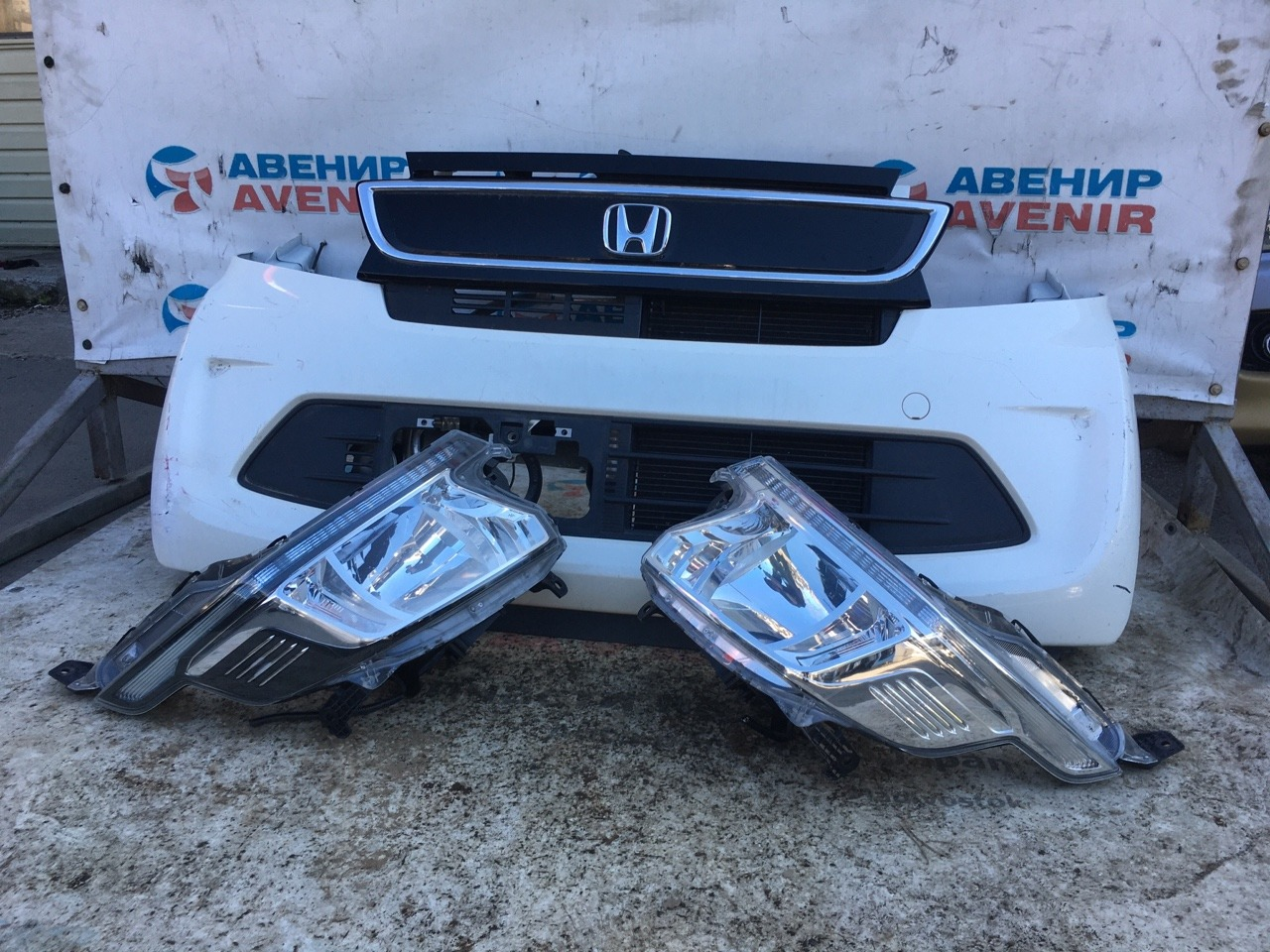 Nose cut Honda N-Wgn JH1 S07A