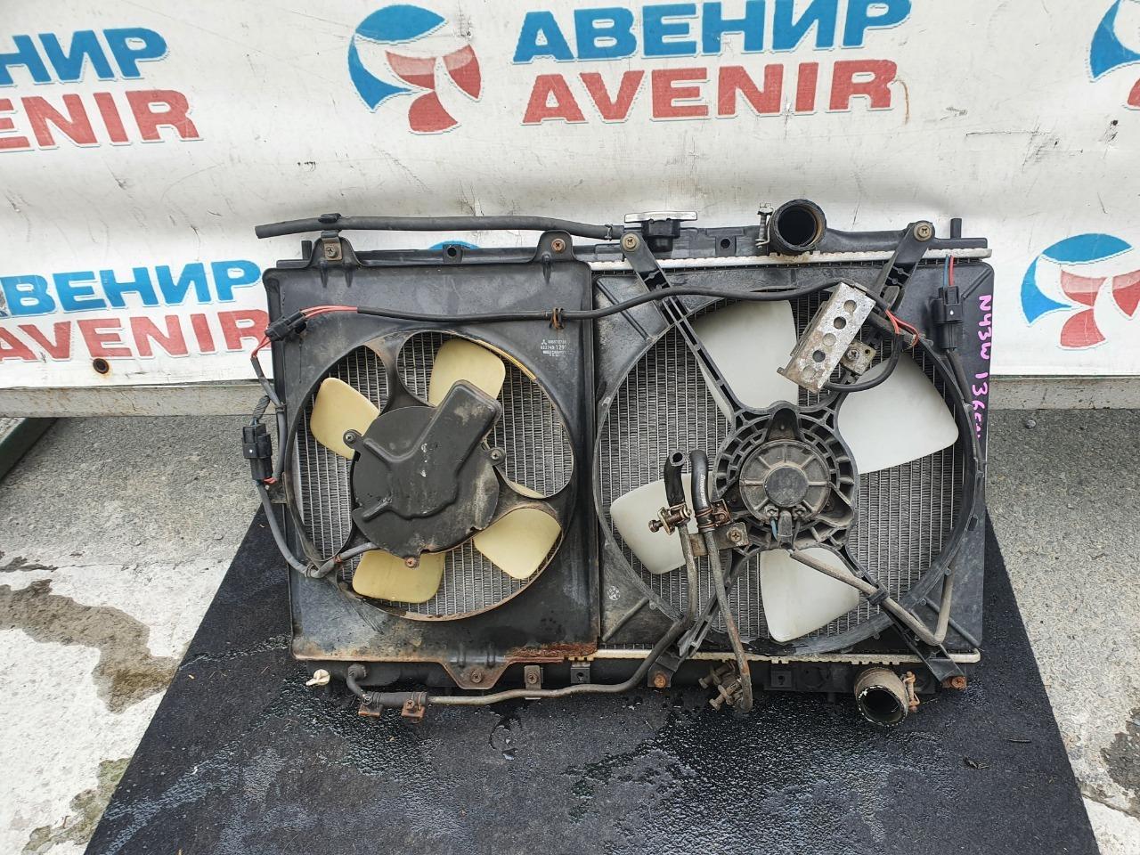 Радиатор Mitsubishi Chariot N43W 4G63