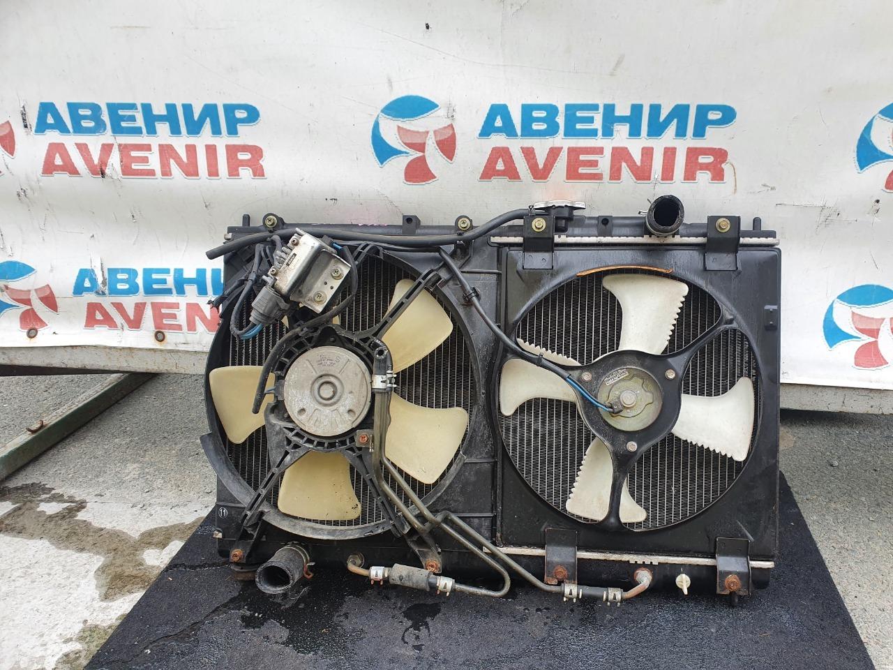 Радиатор Mitsubishi Diamante F34A 6A13