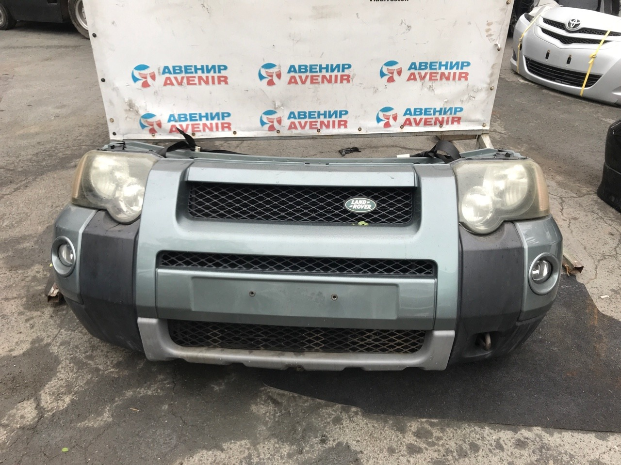 Nose cut Land Rover Freelander L314