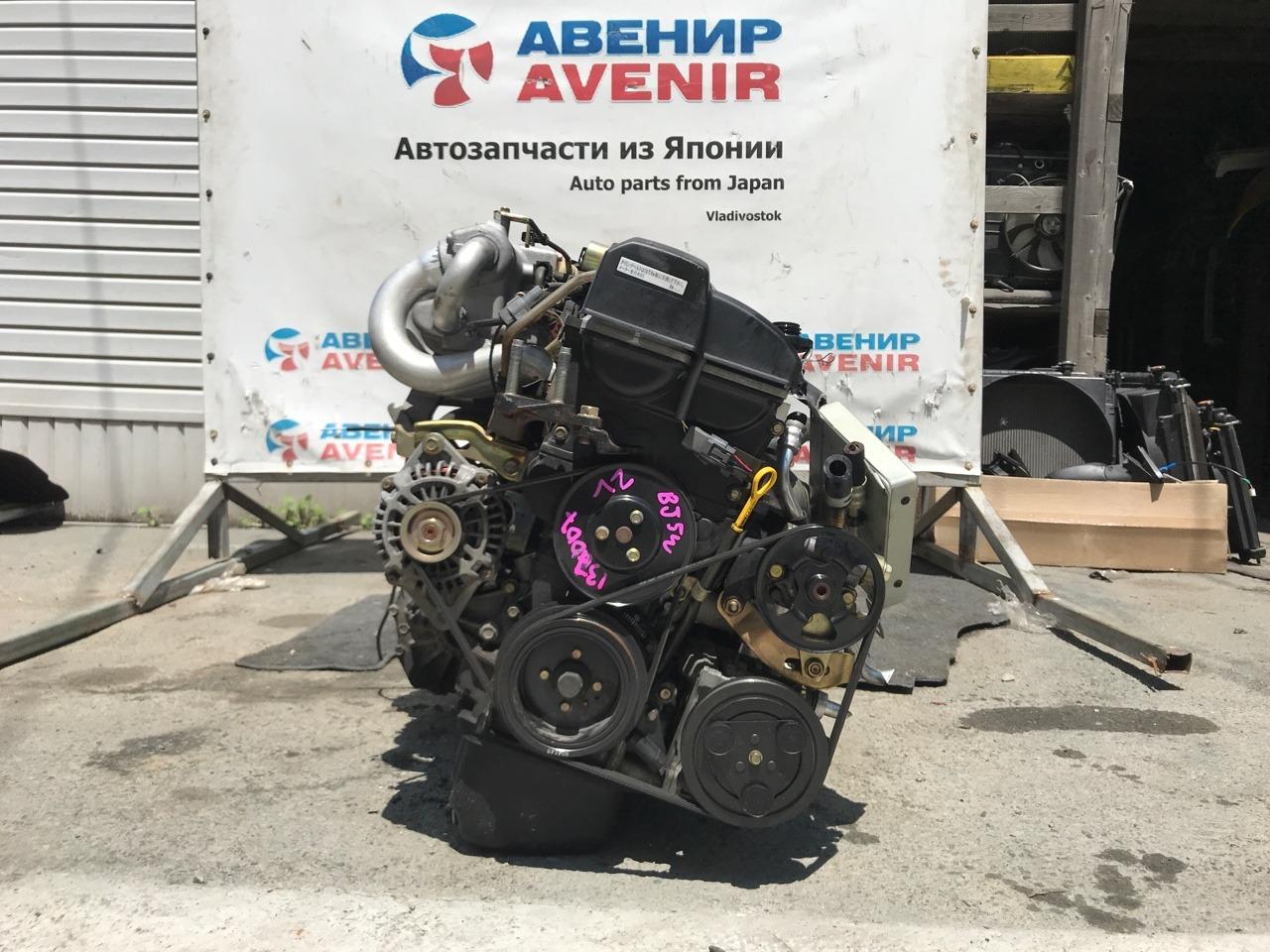 Двигатель Mazda Familia BJ5W ZL-VE