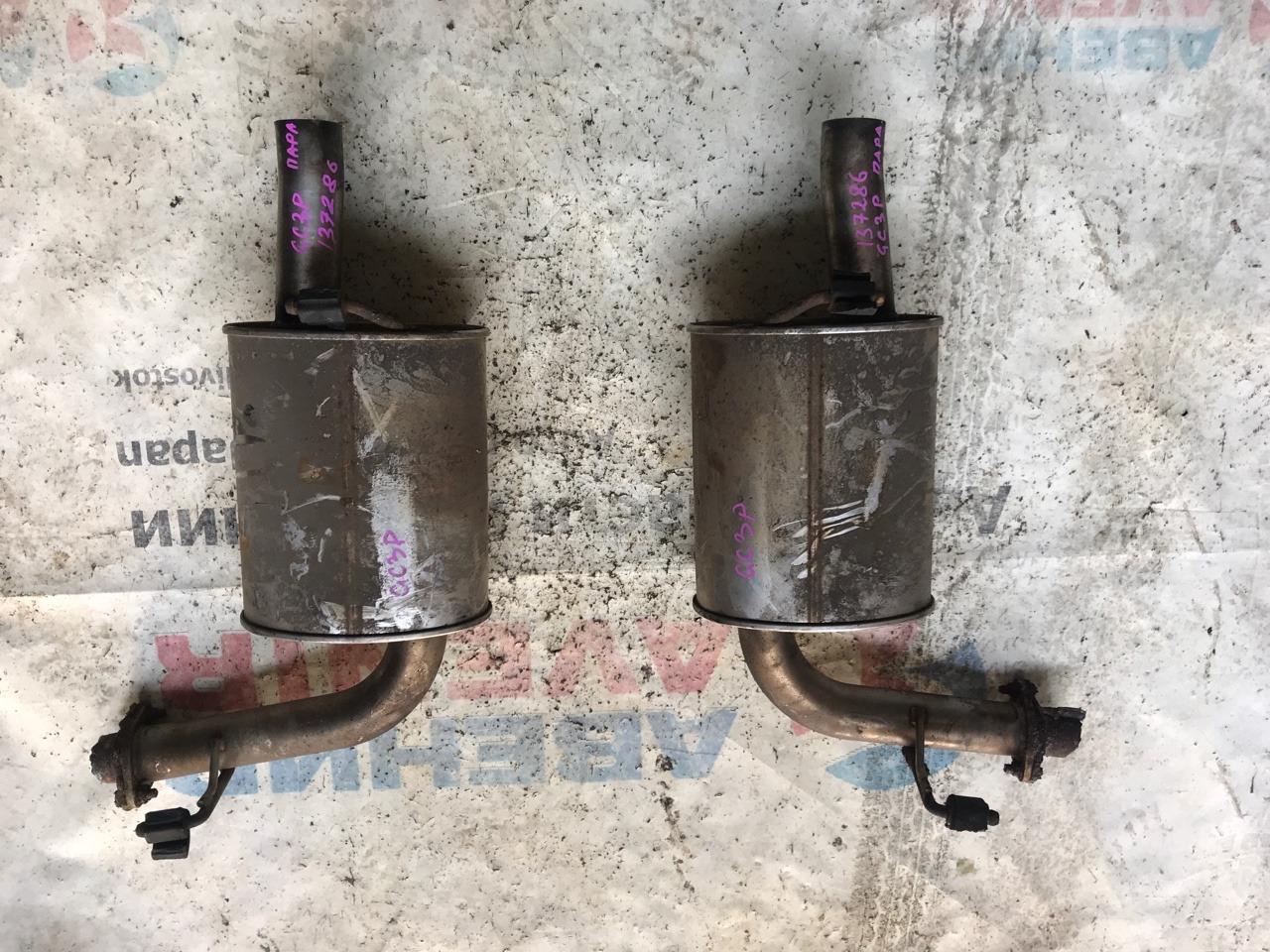 Бочка глушителя Mazda Atenza GG3P