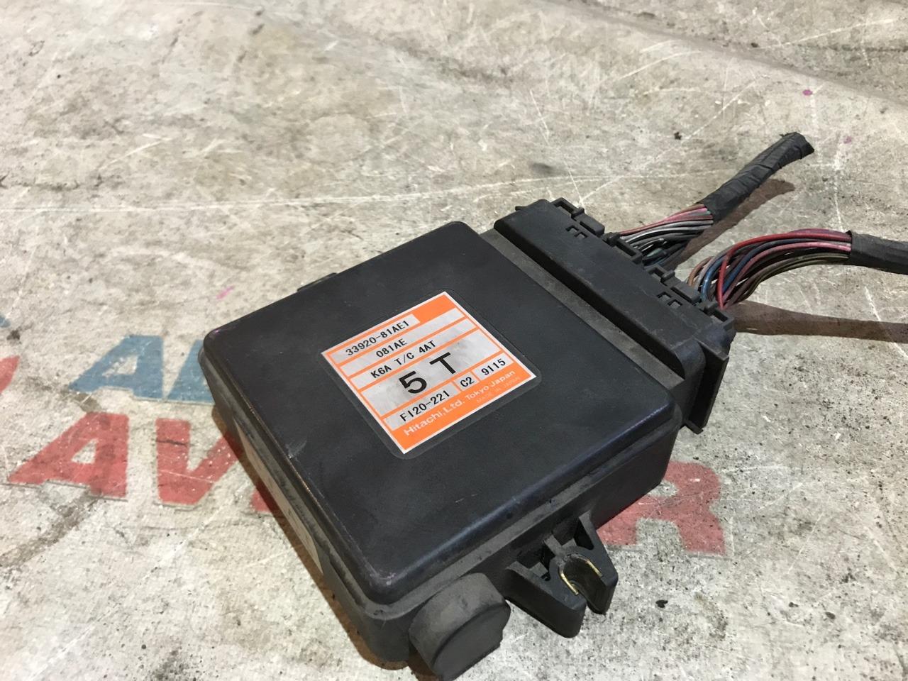 Блок управления efi Suzuki Jimny JB23W K6A