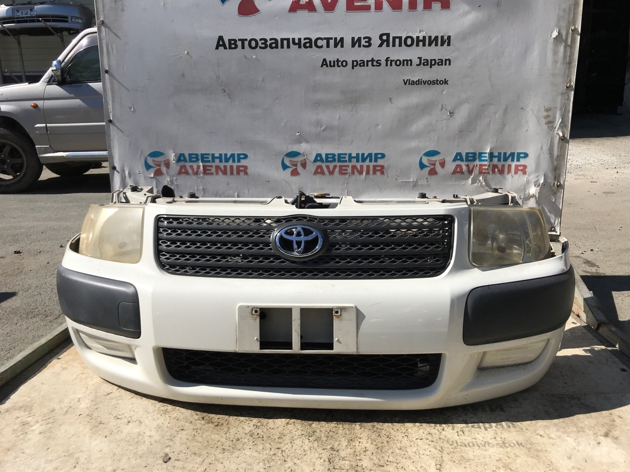 Nose cut Toyota Succeed NCP55 1NZ-FE