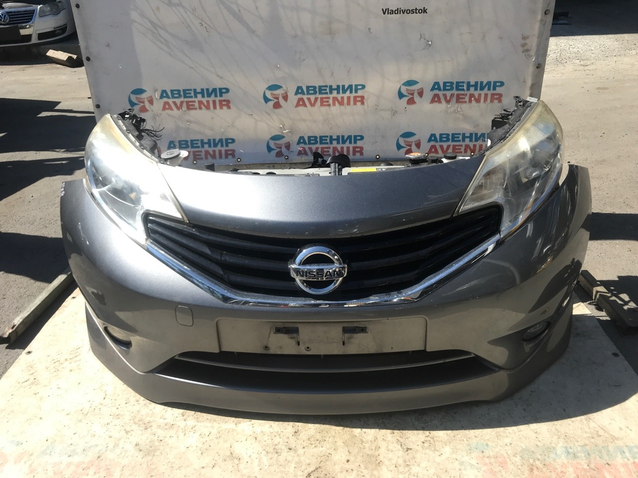 Nose cut Nissan Note E12 HR12DDR