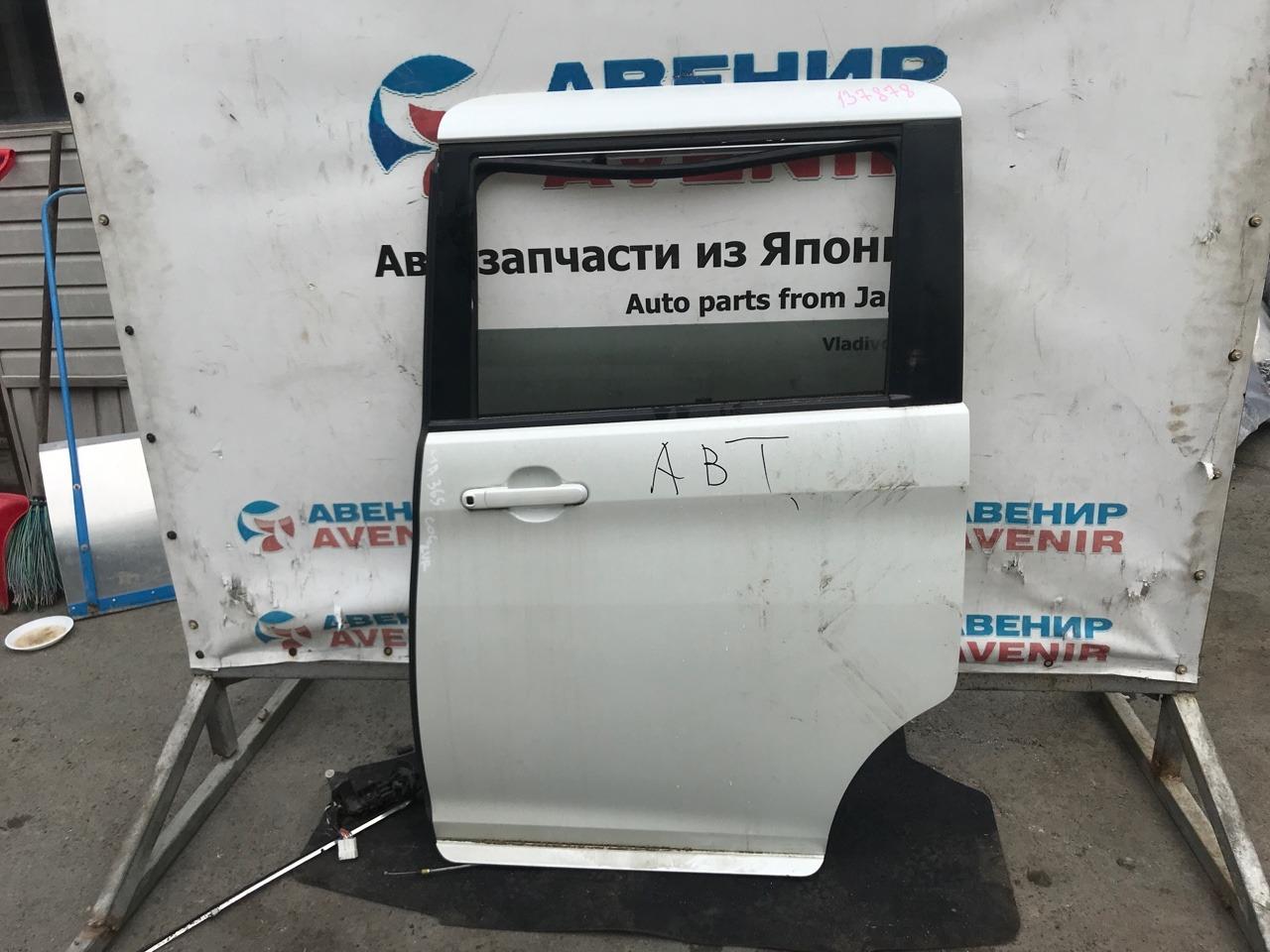 Дверь Suzuki Solio Bandit MA36S задняя левая