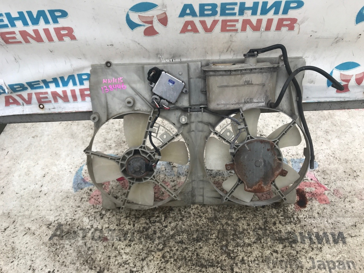 Диффузор радиатора Toyota Alphard MNH15