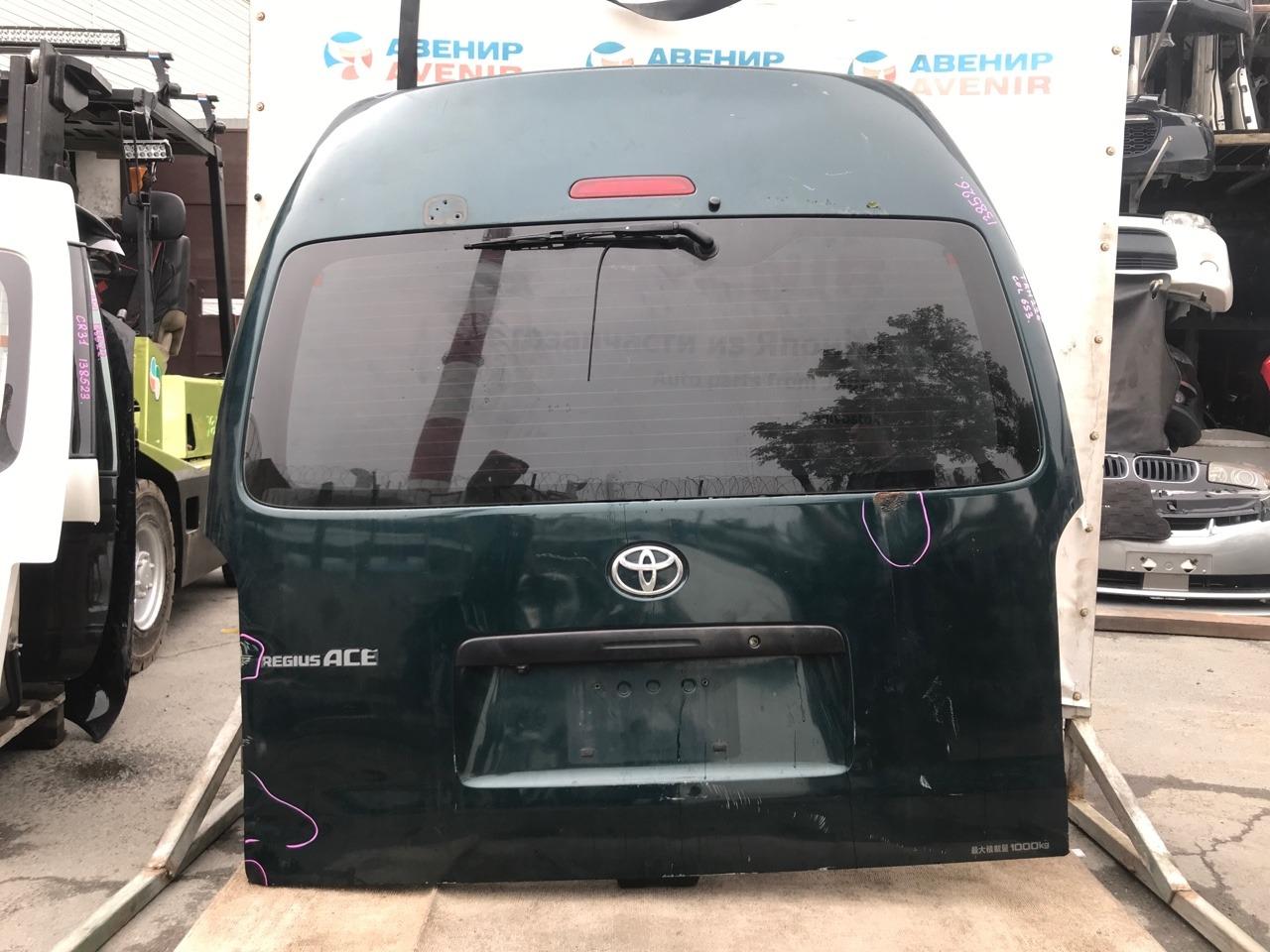 Дверь задняя Toyota Hiace KDH211