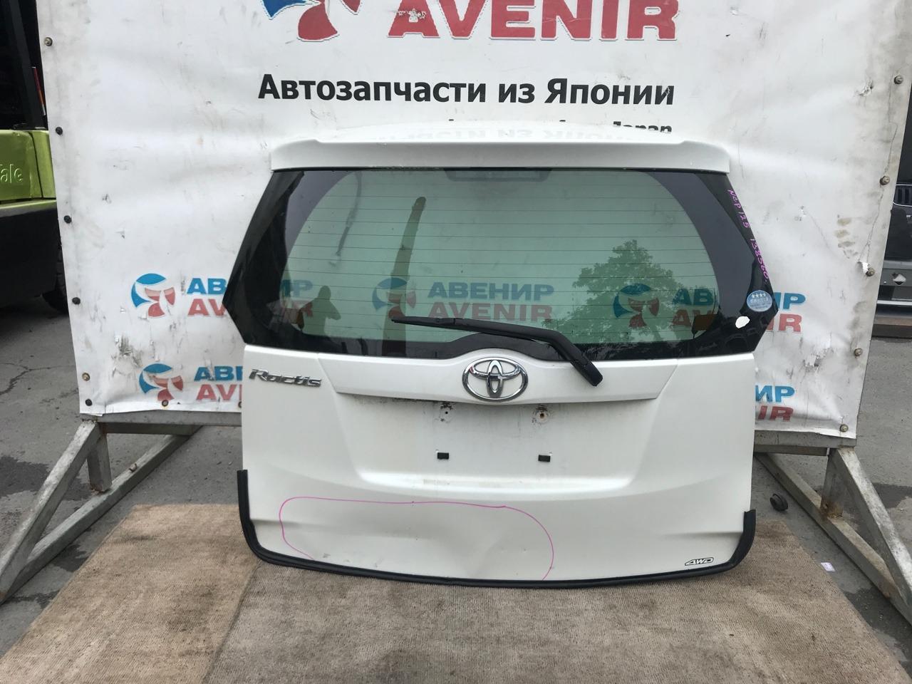Дверь задняя Toyota Ractis NCP120