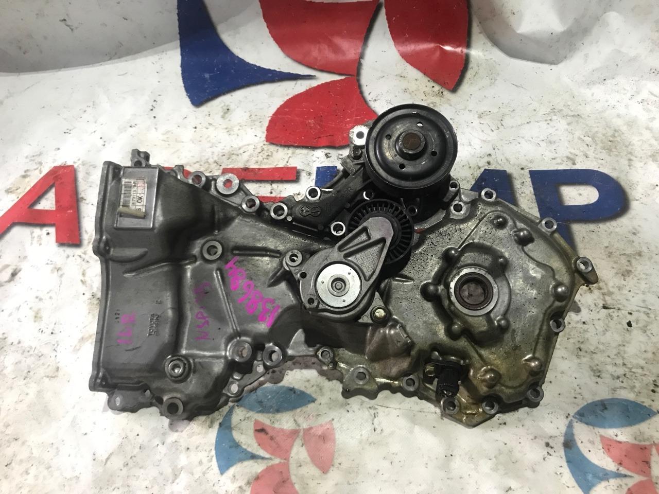 Лобовина двс Toyota Vitz NSP135 1NR-FE