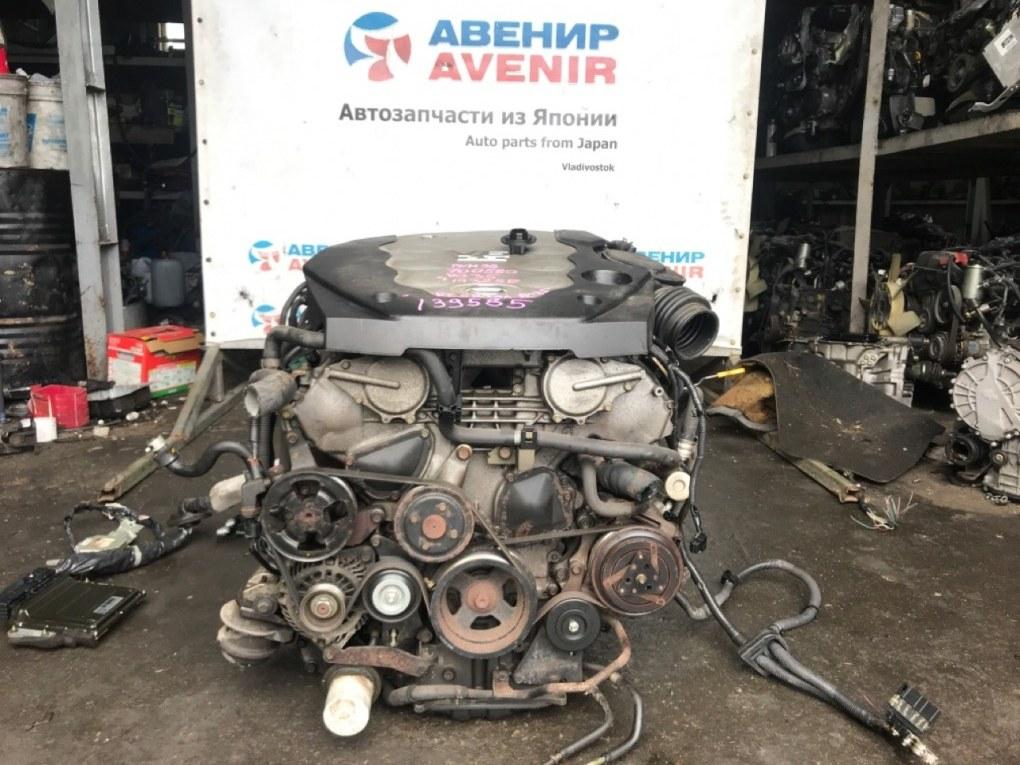 Двигатель Nissan Stagea PNM35 VQ35